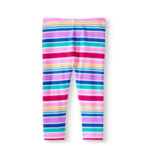Girls' Capri Legging Crop-Leg Size M 7-8~L 10-12